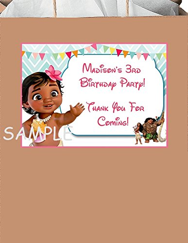 """Personalized Doc McStuffins Party Stickers,2 1//2/"""",Birthday Favors Bag Labels 4"""