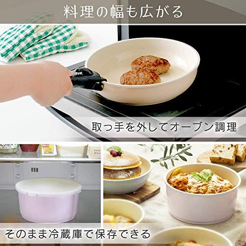 アイリスオーヤマ『KITCHENCHEFセラミックカラーパン6点セット(H-CC-SE6)』