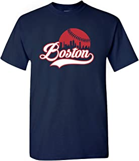 Xtreme Apparrel Boston City Baseball Skyline Shirt