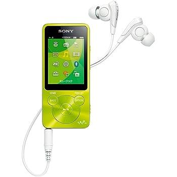 ソニー SONY ウォークマン Sシリーズ NW-S14 : 8GB Bluetooth対応 イヤホン付属 2014年モデル グリーン NW-S14 G