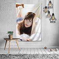 白石麻衣(Shiraishi Mai) タペストリー 壁掛け壁画 壁掛け 装飾布 インテリア 窓 ウォールアート 布ポスター おしゃれ リラックス 機能 お部屋 和室 家 リビングルーム ベッドルーム 部屋 おしゃれ 152*102cm