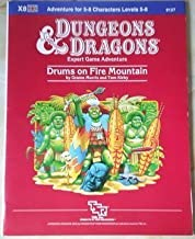 Drums on Fire Mountain Module X8 (Dungeons and Dragons)