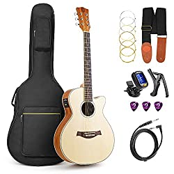 Best Small Body Acoustic Guitar under $500