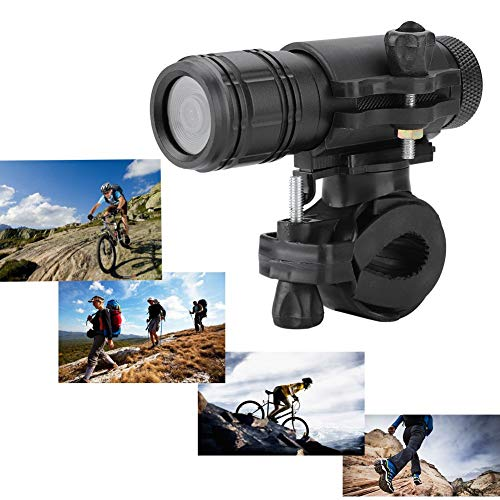 Motorfiets Camera Waterdicht 8MP 720P, Mini Sport DV Camera Fiets Motorhelm Action Cam DVR Video Perfect voor buitensporten