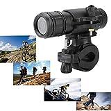 Tangxi Videocamera Moto Impermeabilità 8MP 720P, Mini Sports DV Videocamera Bike Casco Moto Action Cam DVR Video Perfetto per Gli Sport all'Aria Aperta