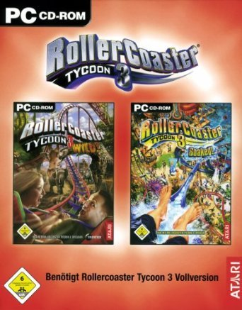 RollerCoaster Tycoon 3: Add-Ons Wild! / Soaked!