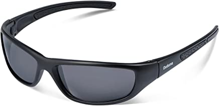 fa897482820 Duduma Polarized Sports Sunglasses for Men Women Baseball Running Cycling  Fishing Driving Golf Softball Hiking Sun