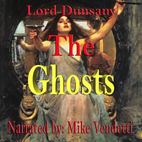 The Ghosts audiobook cover art