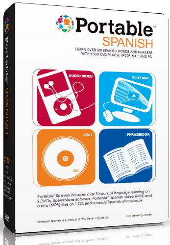 Portable Spanish for DVD, iPod, Mac & PC. Learn Spanish Anywhere Anytime.