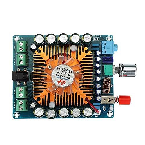 LKAIBIN Amplificador de la placa 4x50W DC 12V-16V TDA7850 4 Canales HIFI Coche estéreo importado chip Digital Amplificador Board Seguro y duradero