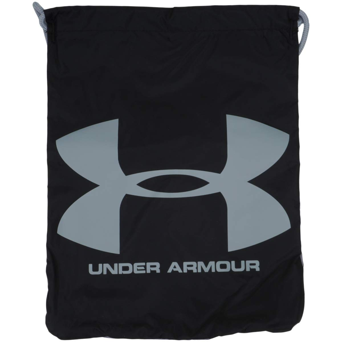 Under Armour Unisex-Adult Ozsee Backpack, Black/Black/Steel (005), One Size