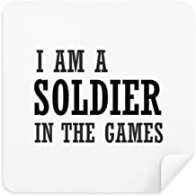 DIYthinker Soldier The Games Glasses Cleaning Cloth Phone Screen Cleaner Suede Fabric 2Pcs