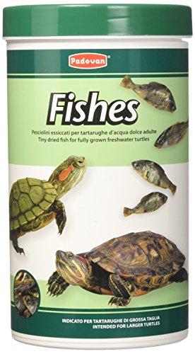 Padovan Fishes - Pesciolini essiccati per Tartarughe d'Acqua Dolce - Confezione da 160 g / 1 Lt