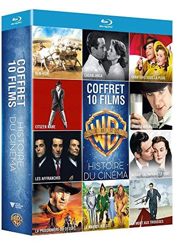 Collection de 10 films de l'histoire du cinéma Warner - Coffret Blu-Ray