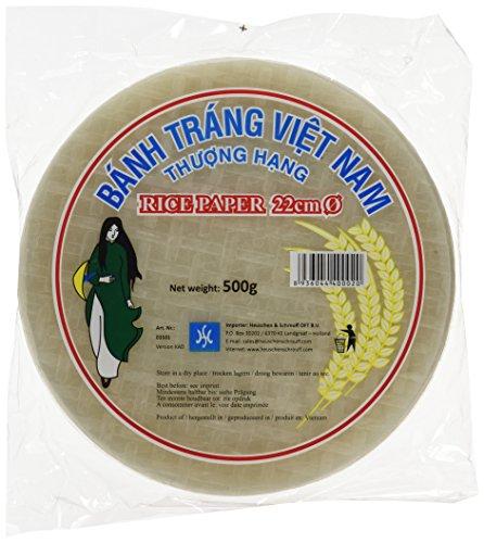 HS Vietnamesisches Reispapier 22cm 500g (1 x 500 g)