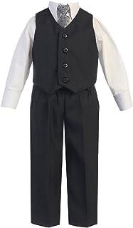 Lito Big Boysダークグレーベストパンツ特別な機会イースター衣装セット8?–?14