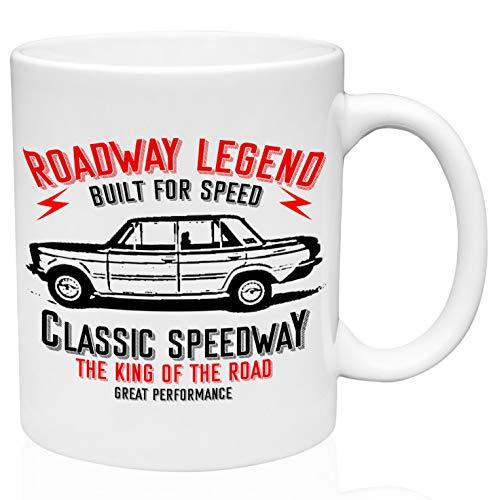 Fiat 125 special roadway legend 11oz Ceramic High Quality Coffee Mug