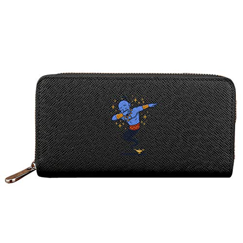 Dabbing Genie Anti Splash Zipper Wallet Handbag Travel Long Wallet Long Zip Wallets For Men Women
