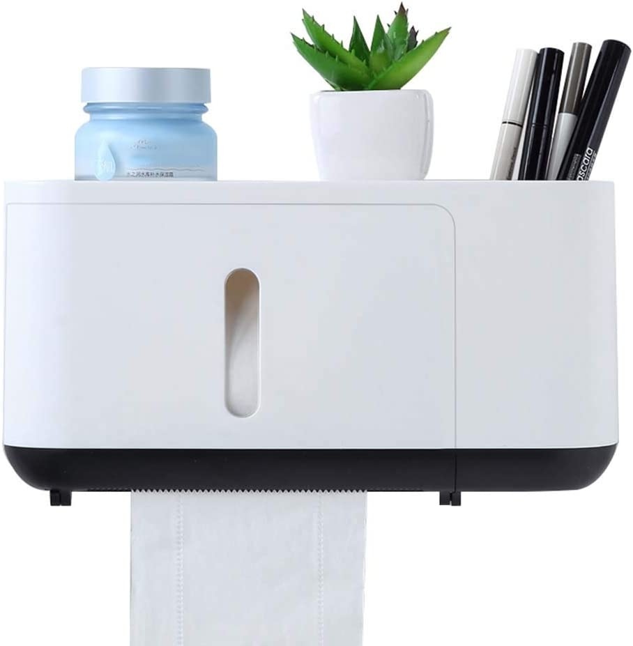 Toilet Paper Holders Wall Holder- Large Super intense SALE discharge sale Mount Tissue Disp