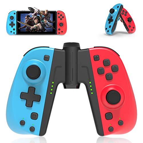 Mando para Nintendo Switch,Powerlead Joy con replacement para Nintendo Switch,Joypad InaláMbrico Con Reloj Despertador / BotóN Turbo / Macro