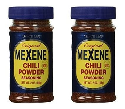 Mexene Chili Powder Seasoning 2 oz (Pack of 2)