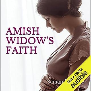 Amish Widow's Faith audiobook cover art