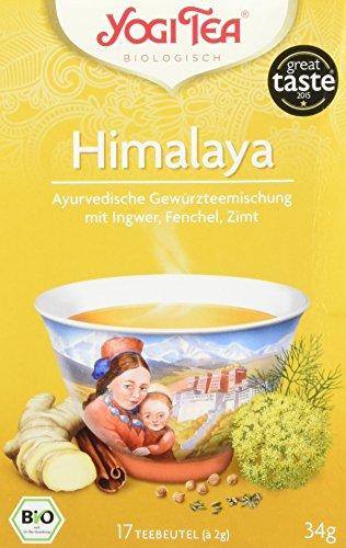 Yogi Tea Himalaya Bio, 3er Pack (3 x 34 g)