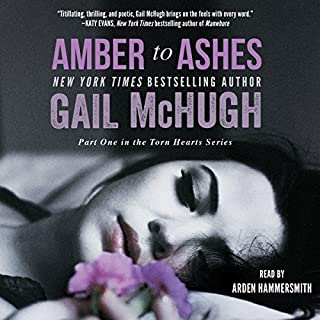 Amber to Ashes audiobook cover art