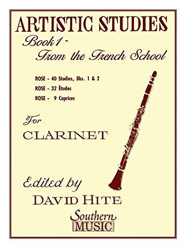 Artistic Studies, Book 1 (French School): Clarinet