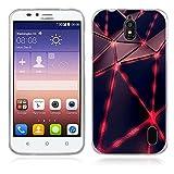 FUBAODA für Huawei Ascend Y625 Hülle, [traumhaft] Künstlerische Malerei-Reihe TPU Case Schutzhülle Silikon Case für Huawei Ascend Y625