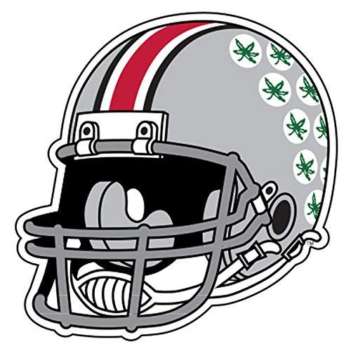 Craftique Ohio State Decal (REF Buckeye Helmet Decal (4''), 4 in)