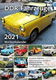 Wochenkalender DDR Fahrzeuge 2021