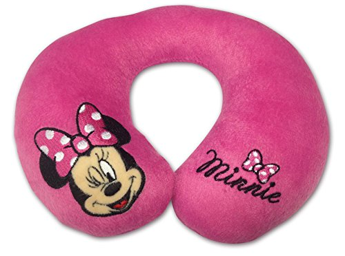 Disney 25190 Cuscino da Viaggio, Disegno Minnie, Rosa