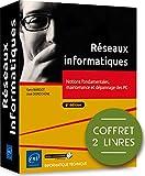 Réseaux informatiques - Coffret de 2 livres - Notions fondamentales, maintenance et dépannage des PC (6e édition)