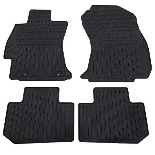 OEM-2019-Subaru-All-Weather-Floor-Mats-Forester-J501SSG200-OEM-2019-Subaru-All-Weather-Floor-Mats-Forester OEM-2019-Subaru-All-Weather Rubber J501SSG200