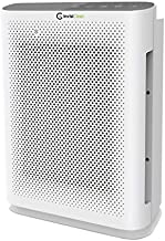 InvisiClean Aura II Air Purifier - 4-in-1 H13 True HEPA, Ionizer, Carbon + UV Light - Air Purifier for Allergies & Pets, Viruses, Bacteria, Home, Large Rooms, Dust, Mold, Allergens, Odor Elimination