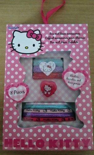 Accessoire Cheveux Disney Hello Kitty Paquet de 8 Lot pour Fille