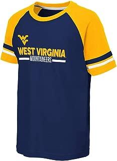 Colosseum Youth WVU West Virginia Mountaineers Ottawa Raglan Tee Shirt
