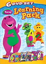 Barney: Learning Pack (Now I Know My ABC's / Numbers Numbers / Rhyme Time Rhythm / Let's Play School / Red Yellow Blue / It's Time For Counting)