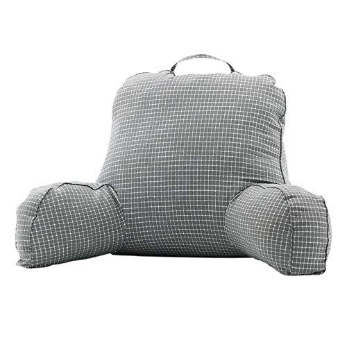 MJTP Confort Almohada de Lectura terapéutica Cojín de Soporte Lumbar Funda Lavable Soporte de Brazo Resistente Ideal como Respaldo para Libros o Juegos (Style-5, 75X49X49CM)