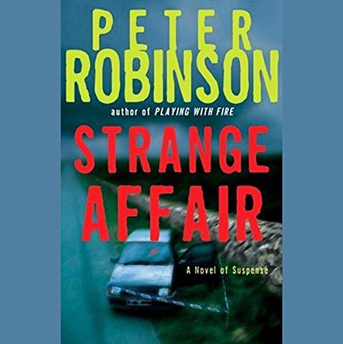 Strange Affair audiobook cover art