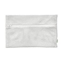 Green sprouts mesh dishwasher bag on a white surface