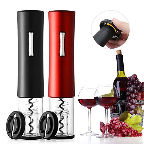 AMTSKR - Sacacorchos para vino, sin cable, cortador automático, abridor de botellas de vino, portátil