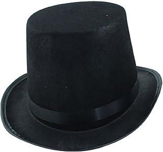 7f9fed0e726e5 Scrox 1 Pcs Décorations Halloween Chapeau de Magicien Noir Halloween  Haut-de-Forme,