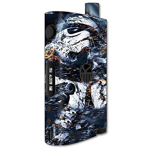Skin Decal Vinyl Wrap for KangerTech Nebox Vape Mod Box / Crazy Storm Guy