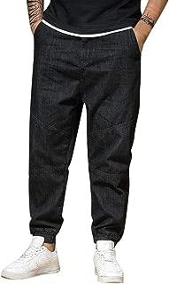 Pants for Men,IHGTZS Men Summer Jeans Casual Long Skate Board Stright Fashion Jean Plus Size S-8XL