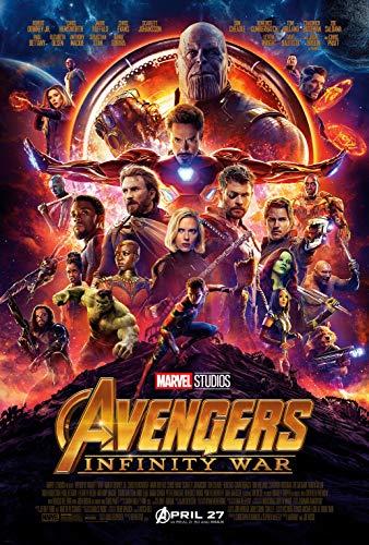 Tainsi Avengers:Infinity War Movie Poster #1 - Matte Poster Frameless Gift 11 x 17 Zoll (28cm x 43cm) *IT-00041