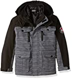 32 DEGREES Weatherproof Weatherproof Little Boys Outerwear Jacket (More Styles Available), Systems Basic Grey Heather, 4