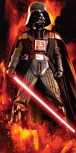 Jerry Fabrics 225478 Star Wars Darth Vader Dusch und Strandtuch 70 x 140 cm