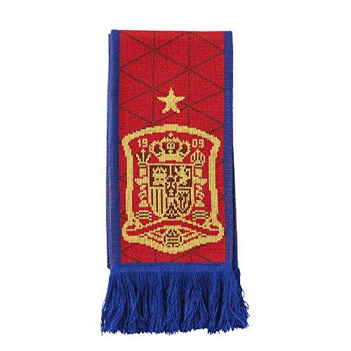 adidas Fanschal Spanien Heimschal Bufanda, Unisex Adulto, Rojo, OSFM